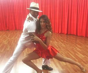 Daniela Ospina se estrenó en 'Bailando con las Estrellas'