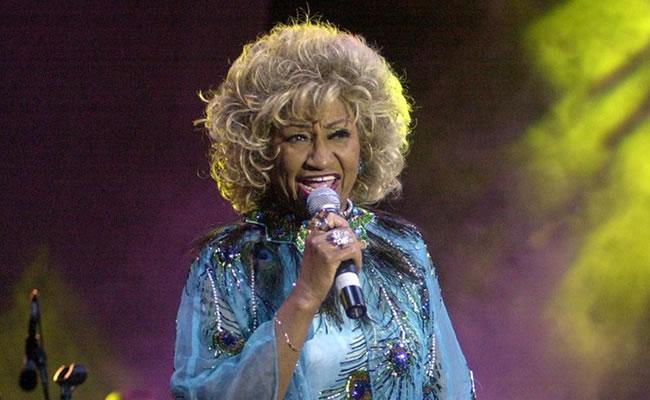 Celia Cruz recibe Grammy honorífico