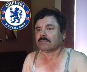 'El Chapo' Guzmán quería comprar al Chelsea