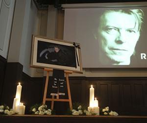 David Bowie fue cremado en Nueva York
