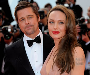Angelina Jolie y Brad Pitt se despiden de Hollywood