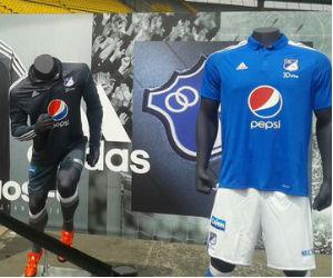 Millonarios presentó su nueva indumentaria para el 2016
