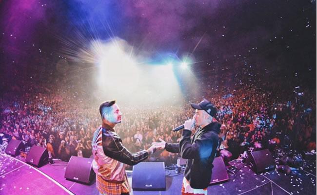 J Balvin y Justin Bieber cantaron al ritmo de 'Sorry'