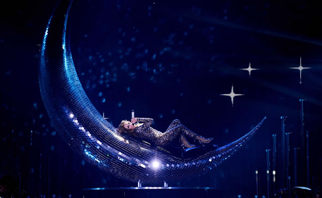 Jennifer López mostró de más en su espectáculo de Las Vegas