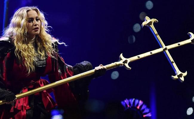 Madonna regresa a Puerto Rico tras polémica con la bandera boricua