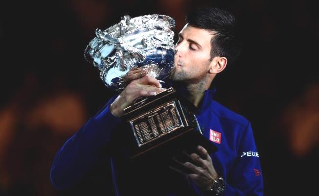 Novak Djokovic ganó su sexto Abierto de Australia. Foto: EFE