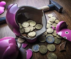 Cinco errores fatales en las finanzas personales