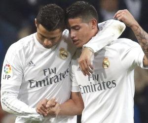 En imágenes, James Rodríguez marcó y asistió con el Real Madrid