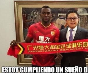 Jackson Martínez: Los mejores memes de su ida al fútbol chino
