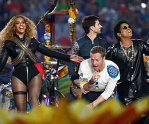 Super Bowl: Coldplay, Beyoncé y Bruno Mars en el show de medio tiempo, revívalo aquí