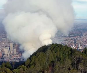 Investigarán negligencia en atención a incendio en los cerros orientales
