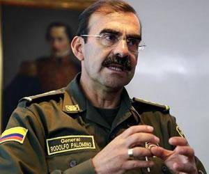 Abren investigación contra el general Palomino