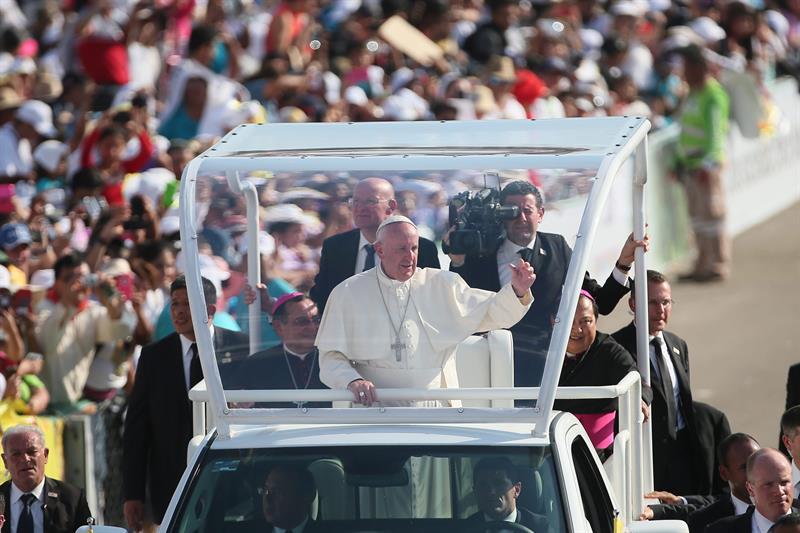 En imágenes, el Papa en Chiapas, México