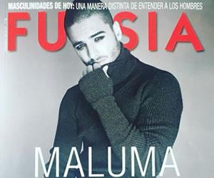 Maluma se maquilló y hasta usó falda