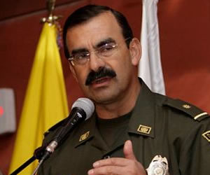 Renuncia el director de la Policía Rodolfo Palomino