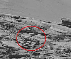 Sarcófago egipcio es encontrado en Marte