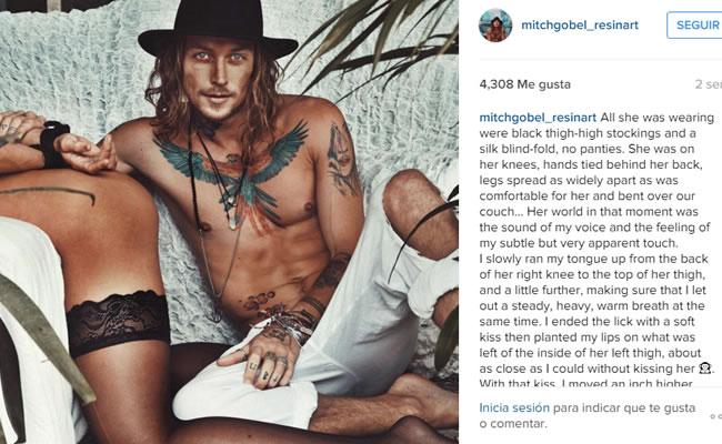 Pareja fue censurada en Instagram por sensuales imágenes
