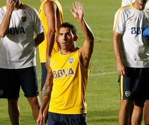 En imágenes, la práctica de Boca Juniors en Cali