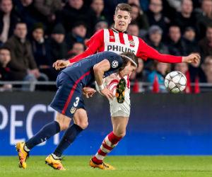 Atlético de Madrid no pudo y sacó un pálido empate ante el PSV