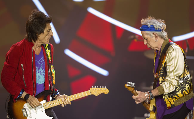 Rolling Stones desafían lluvia en Sao Paulo