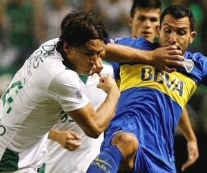 La paridad entre Cali y Boca Juniors en imágenes