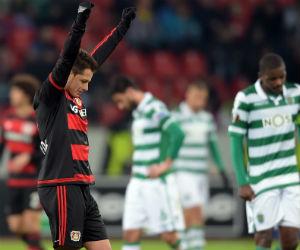 Bayer Leverkusen accede a octavos de final tras eliminar al Sporting Lisboa