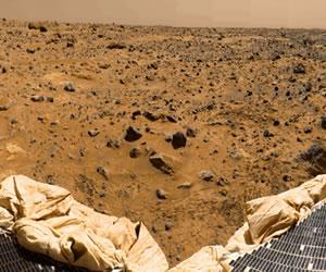 Nuevos datos sobre la formación de 'montañas' de Marte