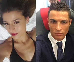 Modelo confirma infidelidades de Cristiano Ronaldo