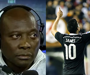 "Freddy Rincón: ""A James le falta la voluntad de Falcao"""