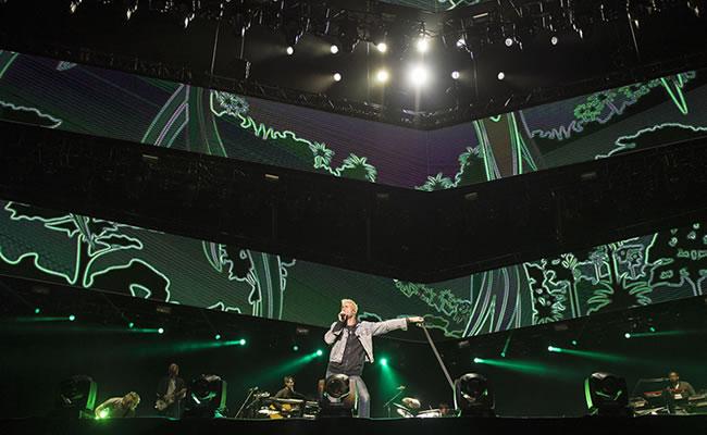 Así se vivió el concierto de Maroon 5 en Colombia