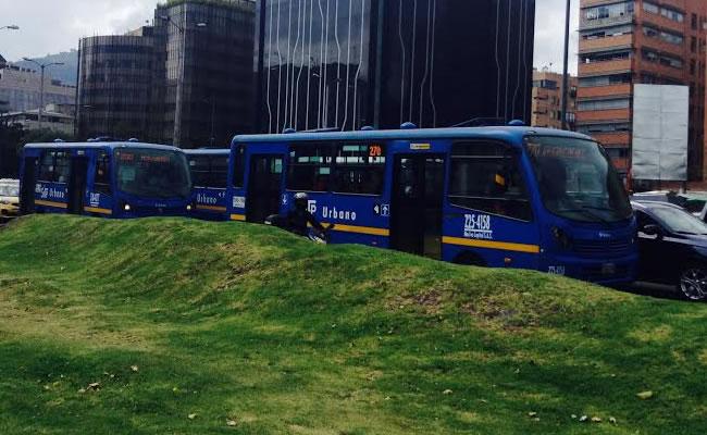 Sistema Integrado de Transporte Público, SITP. Foto: Interlatin