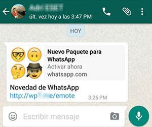 Whatsapp: Nuevo virus usa los nuevos emojis para hacer estafas
