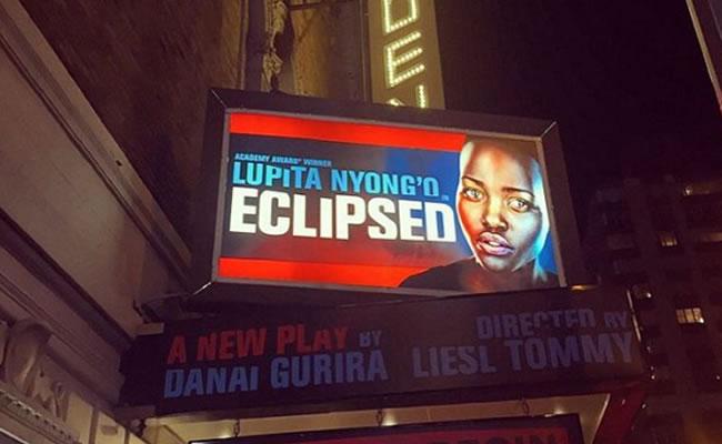 Lupita Nyong'o vuelve a Broadway con 'Eclipsed'