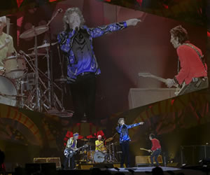 Twitter: Los 'Rolling Stones' son tendencia