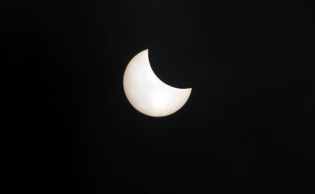 Así fue el único Eclipse total de sol del 2016