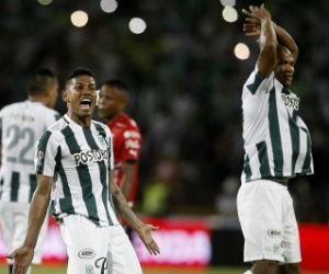Atlético Nacional y los goles con los que venció a Peñarol