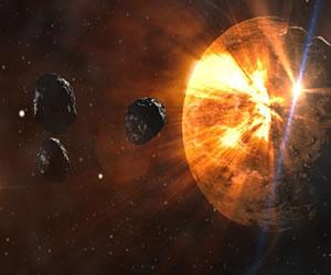 Proyecto quiere desviar la Luna de un asteroide
