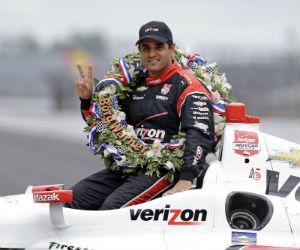 Juan Pablo Montoya ganó la primera carrera de IndyCar 2016
