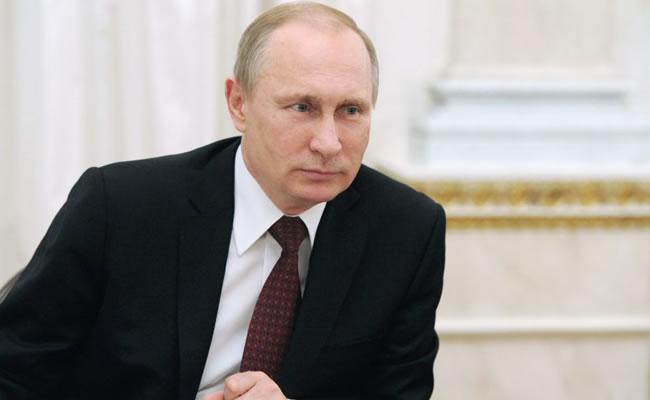 Bladimir Putin, Presidente de Rusia. Foto: EFE