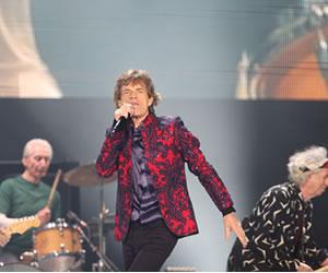 Mick Jagger se burló de Donald Trump durante concierto en México