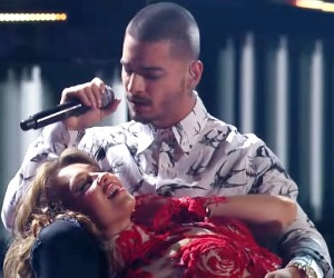 En video, Maluma y Thalía juntos