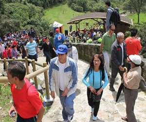 Semana Santa: Sendero de Monserrate permanece cerrado