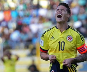 Selección Colombia: probablemente usted no vio esto en el partido