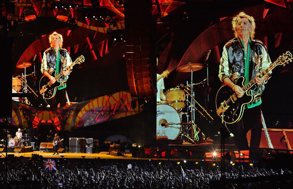 The Rolling Stones y su histórico concierto en La Habana