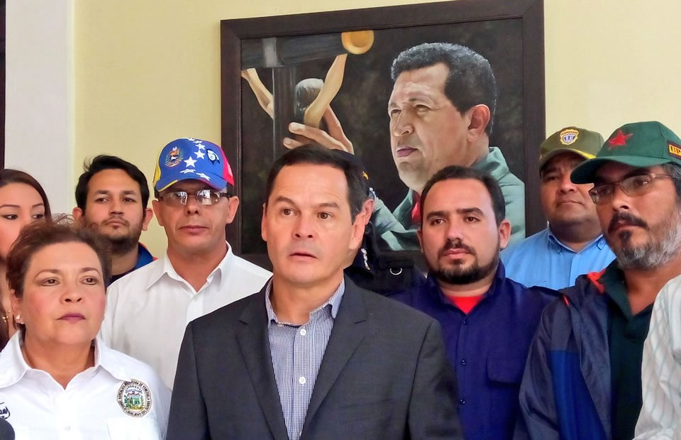 José Gregorio Vielma Mora culpó directamente a ciudadanos colombianos. Foto: Twitter