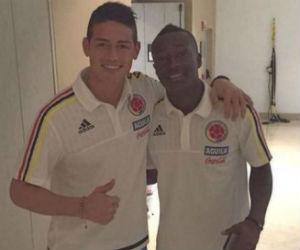James Rodríguez llenó de elogios a Marlos Moreno