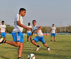 Selección Colombia continúa sus prácticas en Barranquilla