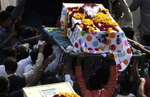 Pakistán: Funeral de víctimas por atentado en Lahore