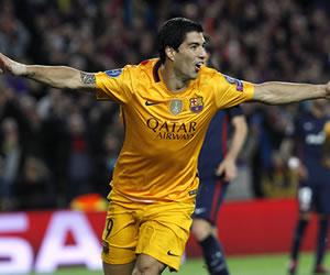 Barcelona, con dos goles de Suárez, venció al 'Atleti'