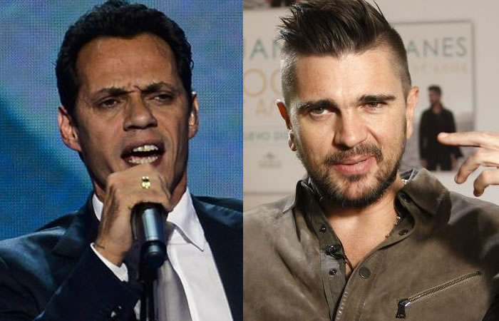Marc Anthony y Juanes actuarán en los Premios Billboard Latinos